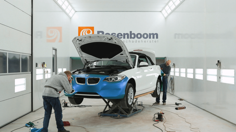 Time-Lapse fotografie: car wrapping